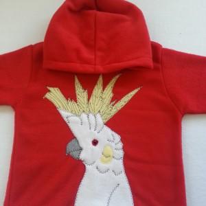 cockatoo hoodie alfie and alice