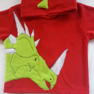 dinosaur boys hoodies styracasaurus