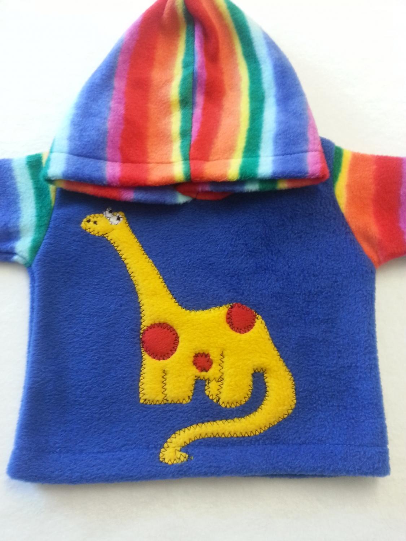 baby dinosaur hoodie alfie and alice cornwall