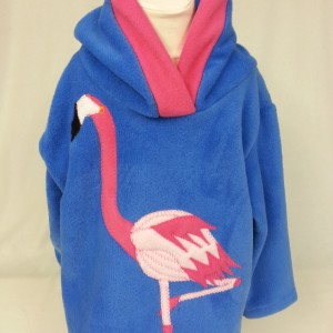 Flamingo hoodie by Alfie and Alice